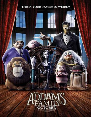 The Addams Family (2019) English 480p WEB-DL x264 250MB