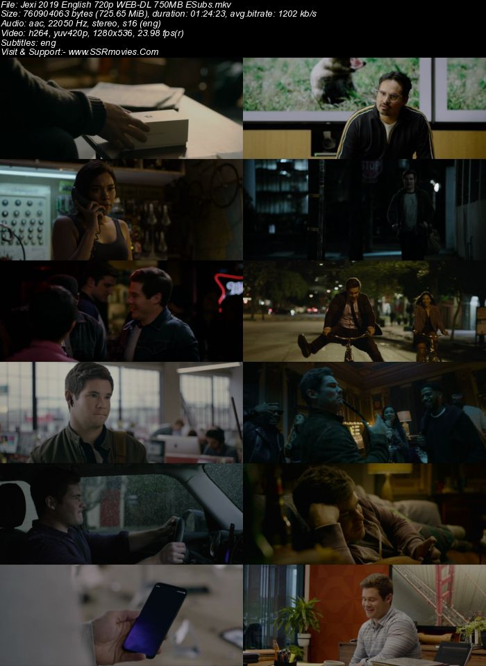Jexi (2019) English 720p WEB-DL x264 700MB Full Movie Download