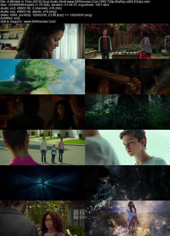 A Wrinkle in Time (2018) Dual Audio Hindi ORG 480p BluRay 350MB Full Movie Download