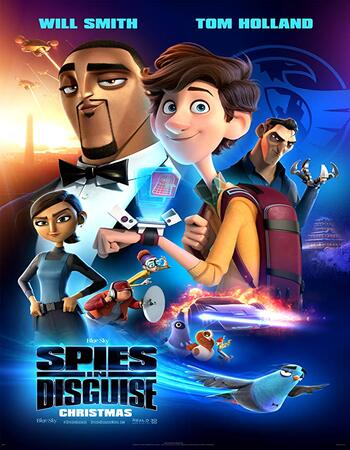 Spies in Disguise 2019 English 720p BluRay 900MB Download