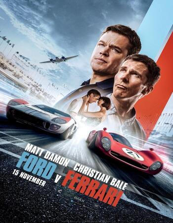 Ford v Ferrari (2019) English 720p WEB-DL x264 1.1GB ESubs Full Movie Download