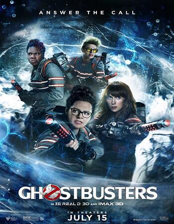 Ghostbusters (2016) Dual Audio Hindi 720p BluRay x264 1.2GB Full Movie Download