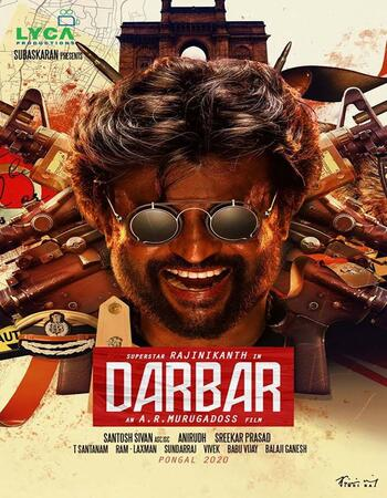 Darbar 2020 Dual Audio HDRip [Hindi-Tamil] x264 700MB ESub