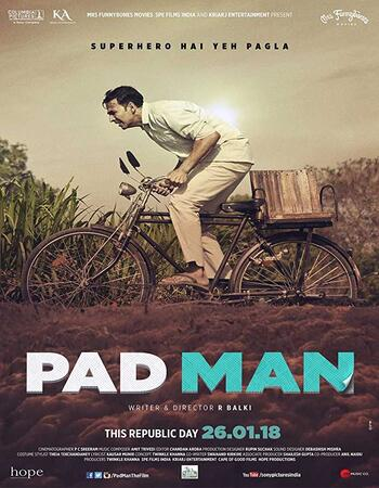 Pad Man (2018) Hindi 720p BluRay 1GB Full Movie Download