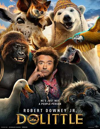Dolittle (2020) English 480p HDCAM x264 300MB Full Movie Download