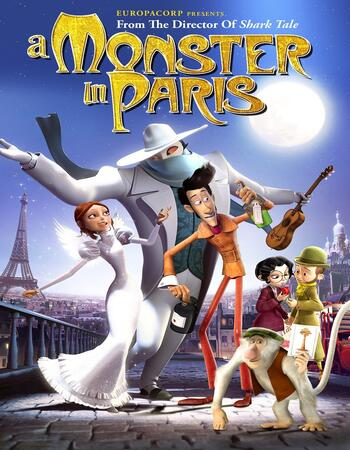 A Monster in Paris (2011) Dual Audio Hindi 720p BluRay 850MB Full Movie Download