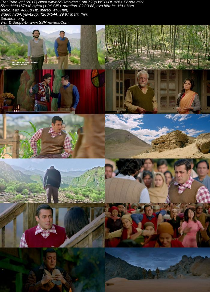 Tubelight (2017) Hindi 480p WEB-DL x264 400MB ESubs Full Movie Download
