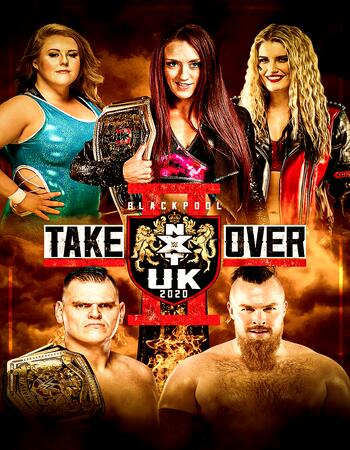 NXT UK TakeOver Blackpool II (2020) 720p 480p WEBRip x264 1.2GB Download