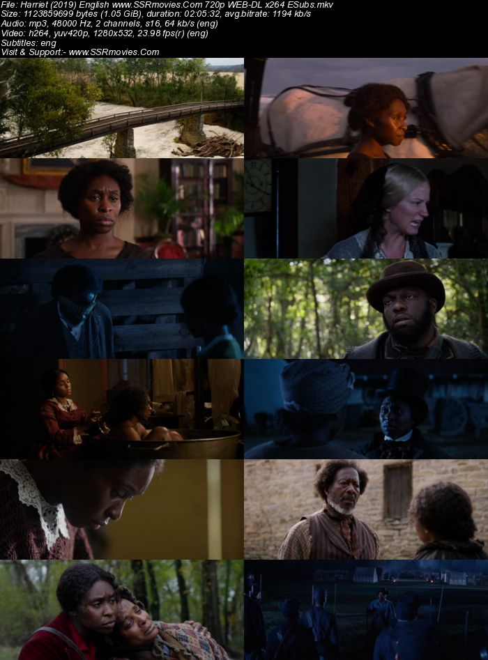 Harriet (2019) English 480p WEB-DL x264 350MB ESubs Full Movie Download
