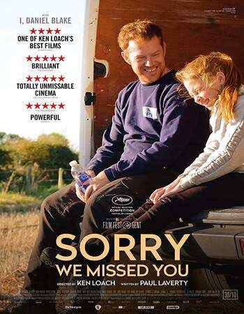 Sorry We Missed You 2019 English 1080p BluRay 1.7GB ESubs