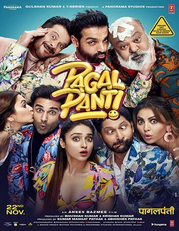 Pagalpanti 2019 1080p WEB-DL Full Hindi Movie Download