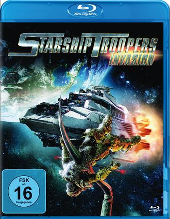 Starship Troopers Invasion 2012 720p BluRay ORG Dual Audio In Hindi English