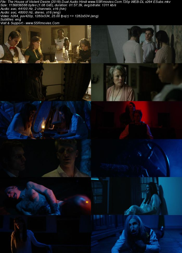 The House of Violent Desire (2018) Dual Audio Hindi 480p WEB-DL 400MB Full Movie Download