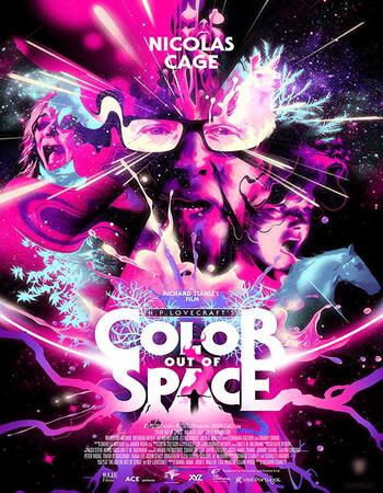 Color Out of Space (2019) English 720p DVDScr x264 950MB Full Movie Download