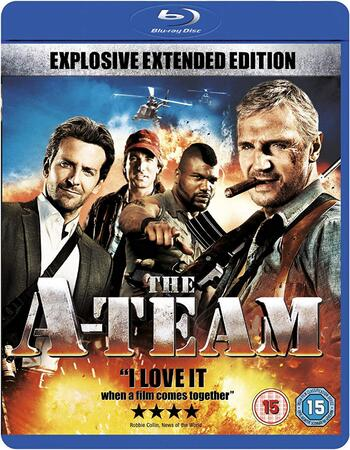 The A-Team (2010) Dual Audio Hindi 480p BluRay x264 450MB ESubs