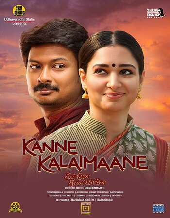 Kanne Kalaimaane 2018 Full Movie Dual Hindi 480p HDRip 350MB