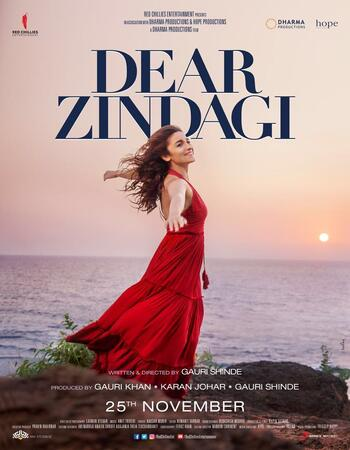 Dear Zindagi (2016) Hindi 480p WEB-DL x264 400MB