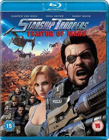 Starship Troopers Traitor of Mars 2017 720p BluRay ORG Dual Audio In Hindi English