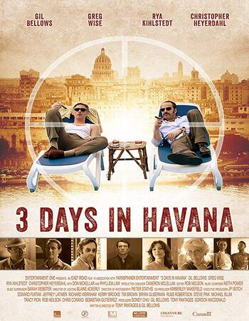 3 Days in Havana 2013 720p WEB-DL Full English Movie Download