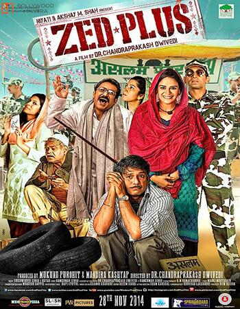 Zed Plus (2014) Hindi 480p WEB-DL x264 400MB