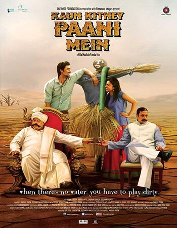 Kaun Kitney Paani Mein (2015) Hindi 480p WEB-DL x264 300MB