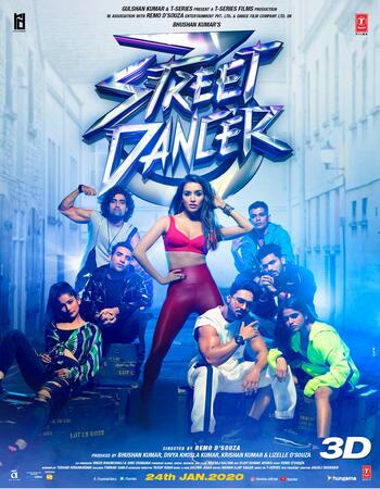 Street Dancer 3D 2020 Full Movie Hindi 480p pDVDRip 400MB