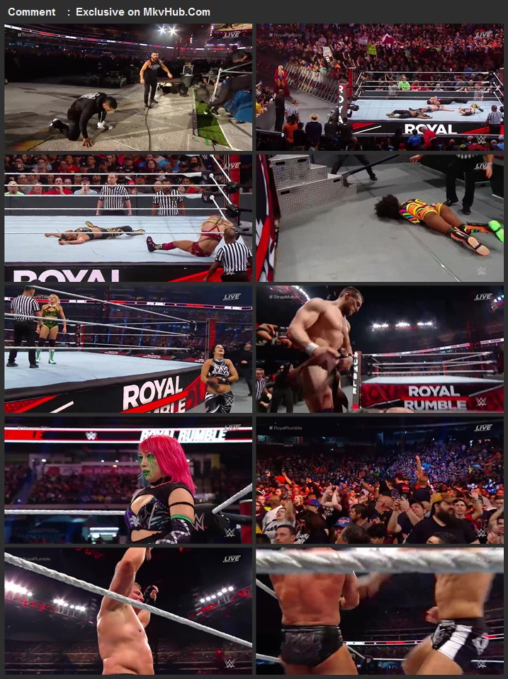 Royal Rumble 2020 720p PPV WEBRip Full Show Download