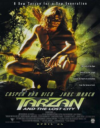 Tarzan and the Lost City (1998) Dual Audio Hindi 480p WEB-DL x264 300MB