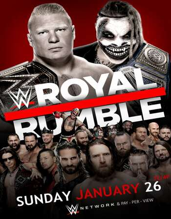 WWE Royal Rumble 2020 PPV 480p WEBRip Full Show Download HD