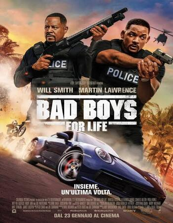 Bad Boys for Life 2020 Movie Dual Hindi 480p WEB-DL 400MB ESub