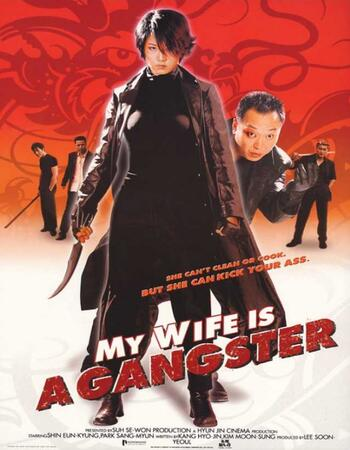 My Wife Is a Gangster 2001 720p WEB-DL ORG Dual Audio in Hindi Korean