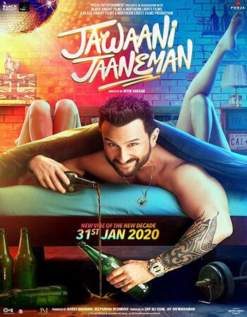 Jawaani Jaaneman (2020) Hindi 720p HDRip x264 1.1GB Full Movie Download