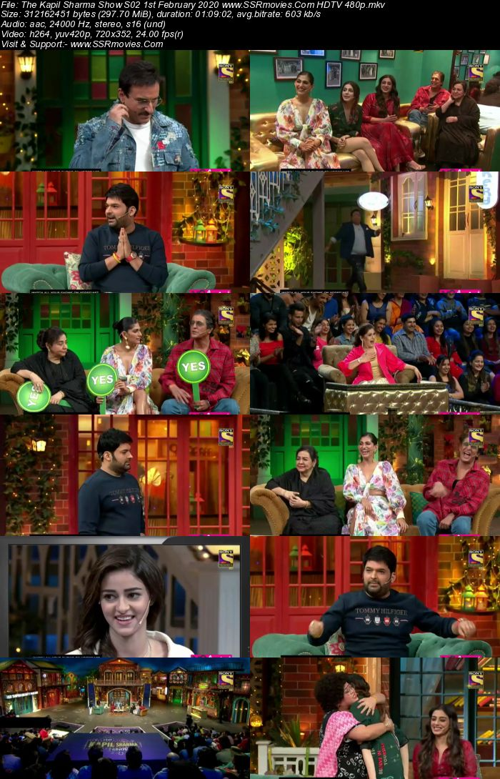 The Kapil Sharma Show S02 1st February 2020 Full Show Download HDTV HDRip 480p 720p