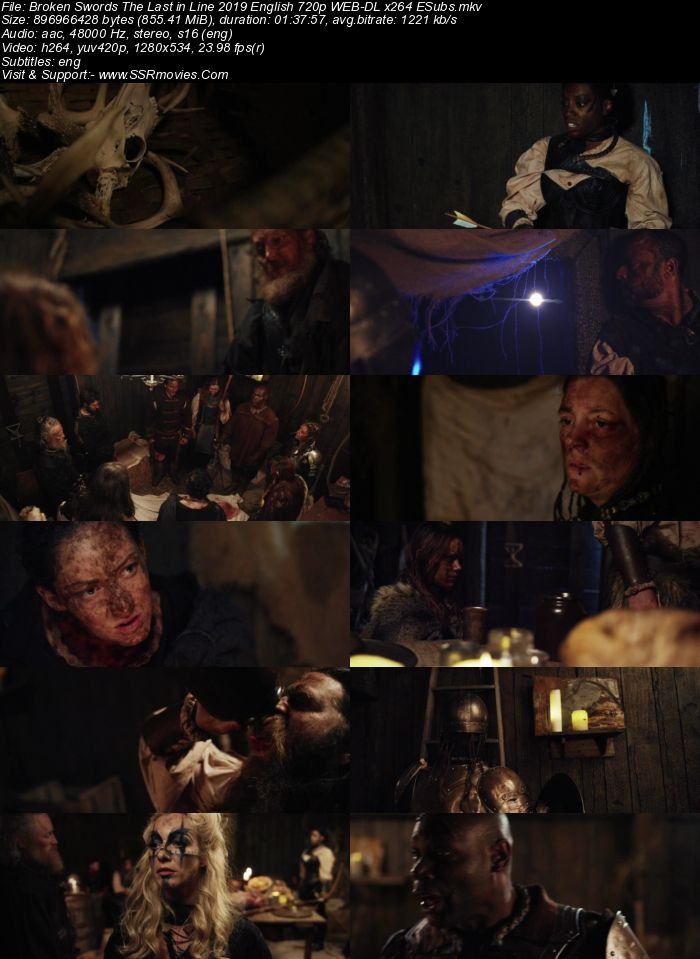 Broken Swords: The Last in Line (2018) English 720p WEB-DL x264 850MB Full Movie Download
