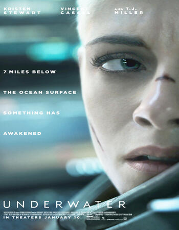 Underwater 2020 English 1080p BluRay 1.6GB ESubs