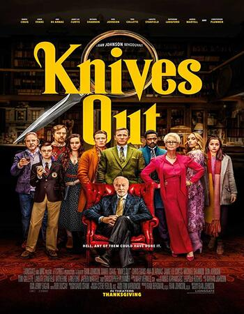Knives Out (2019) English 720p WEB-DL x264 1.1GB Full Movie Download