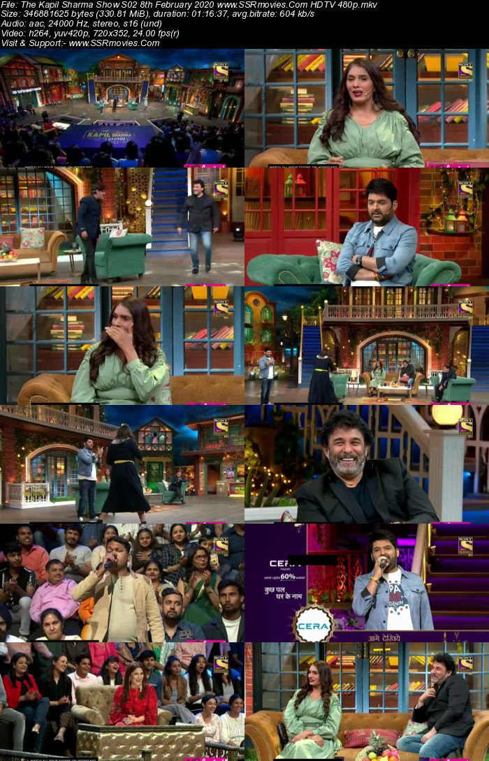 The Kapil Sharma Show S02 8th February 2020 Full Show Download HDTV HDRip 480p 720p