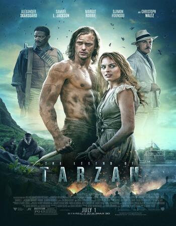 The Legend of Tarzan 2016 Dual Audio Hindi 480p BluRay 350MB ESubs