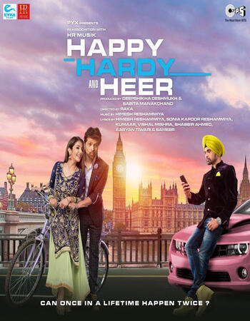 Happy Hardy And Heer (2020) Hindi 720p 480p pDVDRip x264 1.2GB Full Movie Download