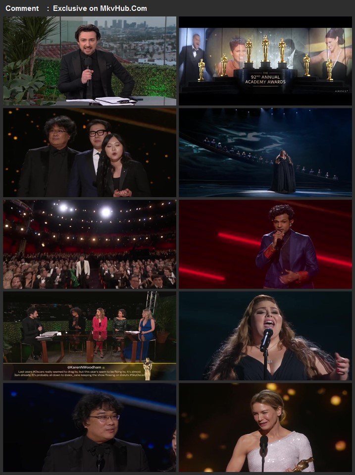 The Oscars 2020 HDTV Full Show Download