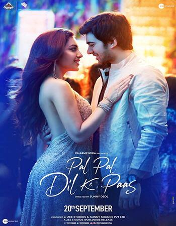 Pal Pal Dil Ke Paas (2018) Hindi 480p HDRip x264 450MB ESubs Full Movie Download