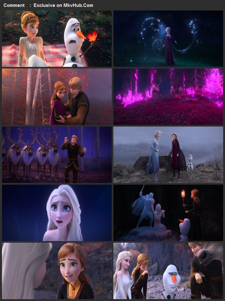 Frozen II 2019 720p BluRay Full English Movie Download
