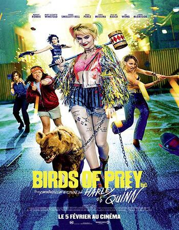 Birds of Prey (2020) Dual Audio Hindi 480p HDCAM x264 350MB Full Movie Download