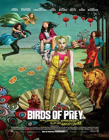 Birds of Prey 2020 Dual Audio [Hindi-English] 720p BluRay 1GB ESubs Download
