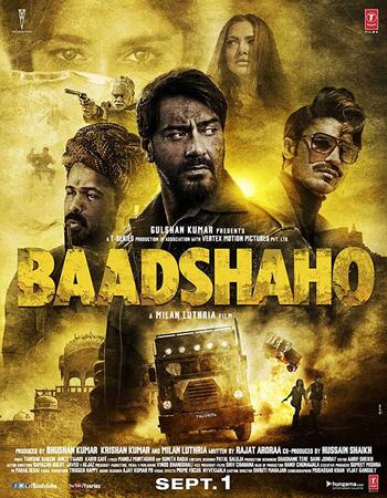 Baadshaho (2017) Hindi 720p WEB-DL x264 1.3GB Full Movie Download