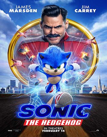 Sonic the Hedgehog 2020 Dual Audio [Hindi-English] 720p BluRay 1.1GB ESubs