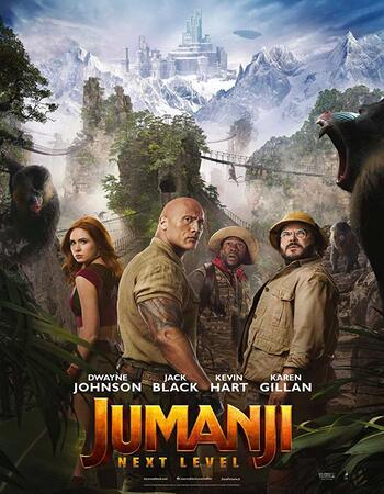 Jumanji The Next Level 2019 Dual Hindi 480p HDRip 400MB KSub