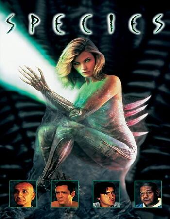 Species 1995 Dual Audio Hindi 720p BluRay x264 850MB