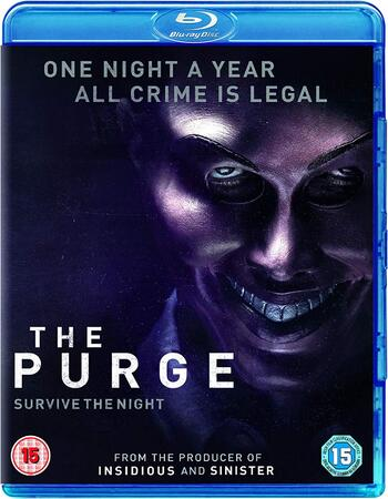 The Purge (2013) Dual Audio Hindi 720p BluRay x264 800MB