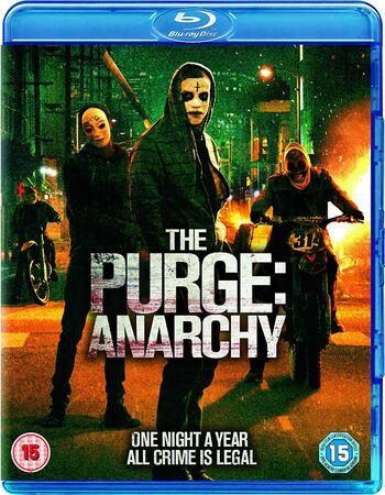 The Purge: Anarchy (2014) Dual Audio Hindi 720p BluRay x264 1GB Full Movie Download